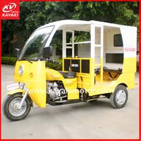 Yemen Nigeria Hot Sales Passenger Transport Motor Tricycle Model Tourist Taxi