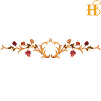 HS Water Transfer Decal For Furniture Water Slide Sticker For Wood/decorative decals for wood