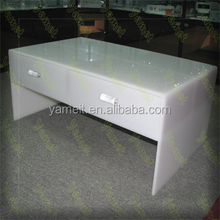 Acrylic furniture table tea table used school bench chair