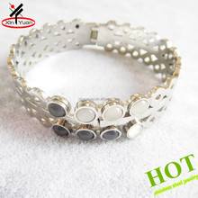 Fashion stainless steel boys bangles and bracelets for big wrist