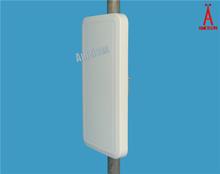 18dBi wireless network antenna 2400 - 2483 MHz Directional Wall Mount Flat Patch Panel Antenna wifi adapter free internet