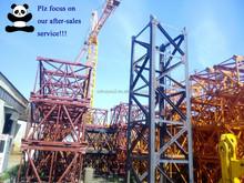 Hot Sale Energy Saving Mobile/Traveling/Rail Tower Crane QTZ125 TC6018