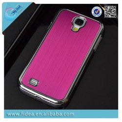 aluminum brushed case For Samsung s5/s4/s3 for galaxy s4/5 mini