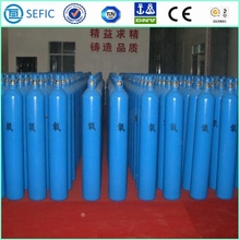 Selected Material Small Portable High Pressure Oxygen Gas Cylinder With PED Cetification