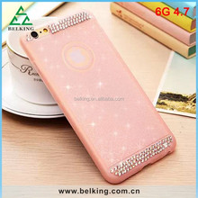 Glitter For iPhone 6 Diamond TPU Case, for iPhone 6 Soft TPU Cover, Soft Protective Case for iPhone 6
