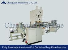 Fully Automatic Aluminium Foil Container Making Machine