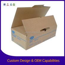 Factory supply 3-ply carton boxes