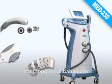 Professional Salon Use Vertical 3 in 1 skin rejuvenation machine/laser tattoo removal machine/ laser hair removal machine