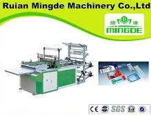 Máquina para hacer bolsas plásticas con sellado lateral