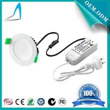 10W 90mm cutout downlight hot selling new product & high CRI led downlight color changing in one downlight by switch on/off
