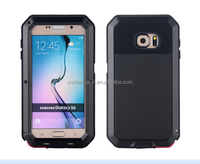 Aluminum Material Metalic bumper shockproof Waterproof phone case for Samsung Galaxy S6 CO-MIX-9023