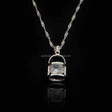 cute girls personalized 925 silver pendant necklace fine jewelry