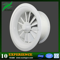 hvac aluminum swirl industrial louvered exhaust fans