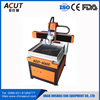 Hobby 6060 small desktop ball screw drive mini cnc router for wood metal plastic