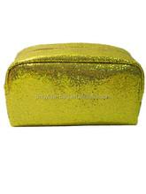 2015 New unique designer simple paillette cosmetic bag
