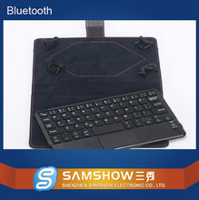 7 Inch Touchpad Portfolio Keyboard Case Bluetooth Keyboard Tablet Covers For Windows Andorid