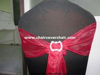 Plastic chair sashes buckle