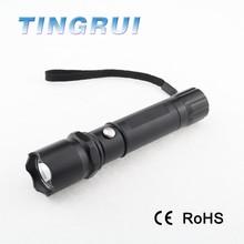 LED Zoom Flashlight Tactical Rechargeable Flashlight lampu senter led