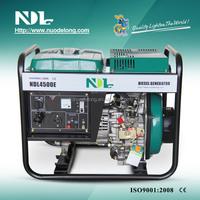 NDL Diesel Generator 3KW Open Type Single Phase Electric/Key Start NDL4500E