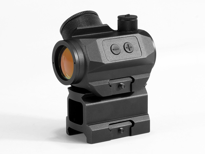 HY9245 Micro T-1 1x21 Red Dot with Tall Riser in black (1)