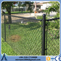 Cheap removable chain link fence