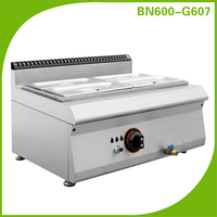 Commercial gas food warmer,buffet bain marie cooking equipment