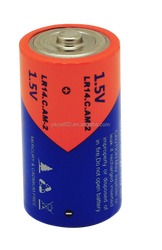 LR14 Dry Cell Battery 1.5v C Size Alkaline AM-2 Made In China