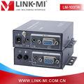 Lm-103tr avec audio stéréo 1920x1440 vidéo vga signal de l'émetteur et le récepteur