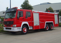 Sinotruk Howo Water Foam Fire Fighting Truck