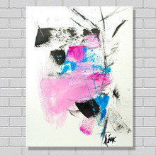 Easy paint modern abstract oil painting
