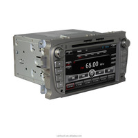 for ford silvery mondeo and focus and focus gps navigation system android 4.4.4 car audio dvd player
