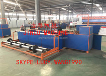 Anping 2m width full automatic two mould,two wire diamond mesh machine