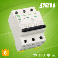 5 years warranty 6ka 3p solar system dc circuit breaker mcb