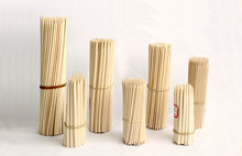 Factory disposable bamboo\/birch wood skewers with logo