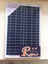 20 watt polycrystalline silicon solar panel price custom made solar panel available