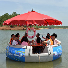 BBQ boat, BBQ donut boat, Low price factory supply BBQ donut boat