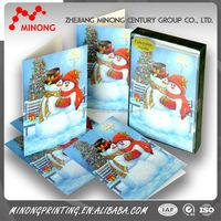 2015 Custom printed american greeting cards wholesale