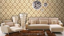 Cheap PVC fashion pattern modern design wallpaper for home room decor