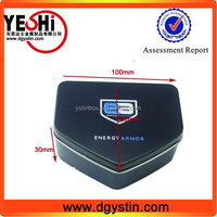Special shaped Jewelry tin box, Jewelry gift packing tin boxes wholesale