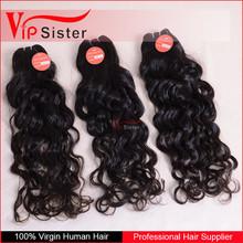 2015 hot sale natural human hair weave for braiding natural dark brazilian human hair Top Quality