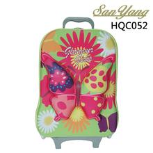 Children's cartoon KT cat suitcase EVA trolley school bag
