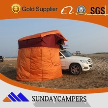 Sun shelter roof top tent Car shelter at outdoor activity
