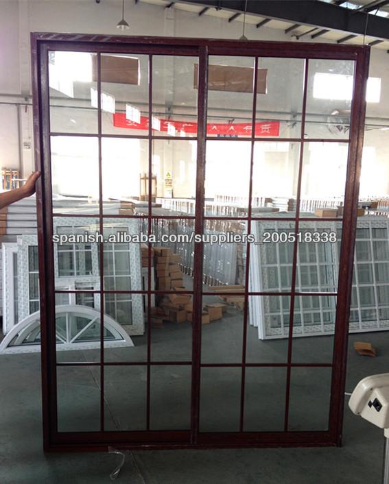 Fotos spanish montones de galer as de fotos en alibaba - Puertas de aluminio color madera ...