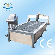 Steel aluminum stainless cutting with cnc plasma cutting machine