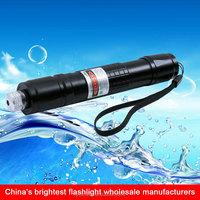 18650 battery rechargeable cigarette lighter green led laser flashlight