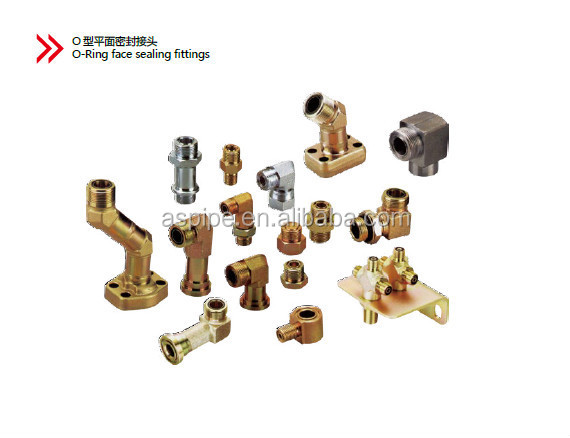 pipe fitting / hydraulic fitting / steel hydraulic fitting