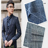New 2015 worsted fabric 100% wool fabric for men's suit