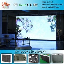 RGX G103 Building wall mounted advertising outdoor P6 led display/outdoor led curved screen