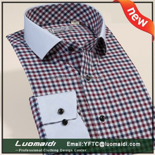 Accept your logo!!!casual 100% cotton men shirt/spread colar slim firt shirt for male/high quality cothing made in china