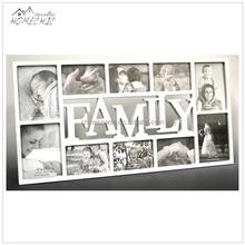 OEM collage mdf/wood photo frame family tree